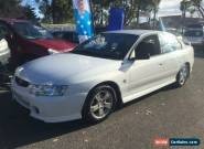 2002 Holden Commodore VY S White Manual 5sp M Sedan for Sale