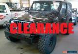 Classic 2001 Jeep Wrangler SPORT for Sale