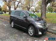 2010 Nissan Elgrand E52 Highway Star Purple Automatic 1sp A Van for Sale