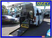 2010 Toyota Hiace KDH223R MY11 Upgrade Commuter White Automatic 4sp A Bus for Sale