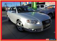 2007 Audi A4 B7 SE Silver Automatic A Sedan for Sale