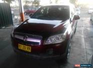 2007 Holden Captiva CG SX (4x4) Burgundy Automatic 5sp A Wagon for Sale