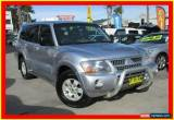 Classic 2004 Mitsubishi Pajero NP MY04 GLS Silver Automatic 5sp A Wagon for Sale