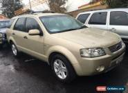 2005 Ford Territory SX Ghia (4x4) Gold Automatic 4sp A Wagon for Sale