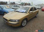 2002 Volvo S60 2.4 20V SE Gold Automatic 5sp A Sedan for Sale