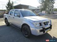 2005 Nissan Navara D40 ST-X Silver Automatic 5sp A 4D UTILITY for Sale