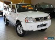 2013 Nissan Navara D22 S5 ST-R White Manual 5sp M 4D UTILITY for Sale