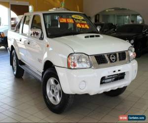 Classic 2013 Nissan Navara D22 S5 ST-R White Manual 5sp M 4D UTILITY for Sale