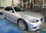 2009 BMW 325I E93 MY09 Steptronic Silver Automatic 6sp A Convertible for Sale