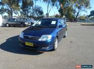 2003 Toyota Corolla ZZE122R Levin Seca Blue Automatic 4sp A Hatchback for Sale