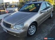 2001 Mercedes-Benz C180 W203 Classic Champagne Bronze Automatic 5sp A Sedan for Sale