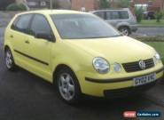 2002 VOLKSWAGON POLO 1-2 S for Sale
