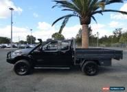 2010 Nissan Navara D40 ST-X Black Manual 6sp M 4D UTILITY for Sale