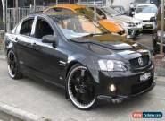 2009 Holden Commodore VE MY10 SS Black Manual 6sp M Sedan for Sale
