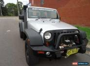 2008 Jeep Wrangler JK MY08 Sport (4x4) Silver Manual 6sp M Softtop for Sale