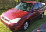 Classic 2004 Ford Focus Manual for Sale