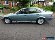 BMW 318 I SE 4 door GREEN 1995 MOT-Oct 2016 - Everyday car in great condition for Sale