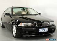 BMW 3 20Ci (2002) 2D Coupe Automatic (2.2L - Multi Point F/INJ) 5 Seats for Sale