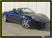 2001 Porsche Boxster 986 Blue Automatic 5sp A Roadster for Sale