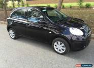 nissan micra 2014 5spd 5dr hatch 22km books damaged repairable drives for Sale