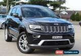 Classic 2014 Jeep Grand Cherokee WK MY14 Summit (4x4) Black Automatic 8sp A Wagon for Sale