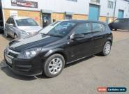 2006 VAUXHALL ASTRA CLUB TWINPORT BLACK 56,reg 1 years mot  px/welcome for Sale