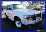 Classic 1995 Toyota Landcruiser HZJ80R DX (4x4) White Manual 5sp M Wagon for Sale