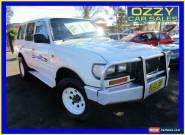 1995 Toyota Landcruiser HZJ80R DX (4x4) White Manual 5sp M Wagon for Sale