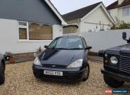 2002 FORD FOCUS LX BLACK SPARES OR REPAIRS for Sale