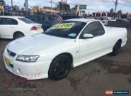 2005 Holden Commodore VZ S White Manual 6sp M Utility for Sale