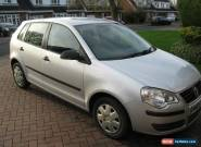 2005 VOLKSWAGEN POLO E 55 SILVER for Sale