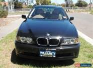 2001 BMW 530i E39 Executive Black Automatic 5sp A Sedan for Sale