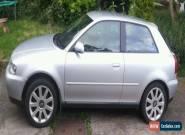 Silver Audi A3  TDI SE 2002 Diesel 3 Door Hatchback MOT 6 Speed for Sale