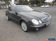 2003 Mercedes-Benz E500 211 Elegance Blue Automatic 5sp A Sedan for Sale