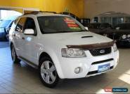 2008 Ford Territory SY TURBO Ghia AWD Winter White Automatic A Wagon for Sale