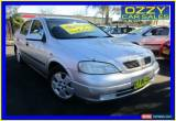 Classic 2003 Holden Astra TS CD Silver Automatic 4sp A Sedan for Sale