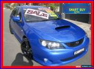 2008 Subaru Impreza MY08 WRX (AWD) Blue Manual 5sp M Hatchback for Sale