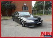 2002 Holden Commodore Black Manual M Sedan for Sale