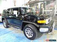 2012 Toyota FJ Cruiser GSJ15R Black Automatic 5sp A Wagon for Sale