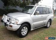 2003 Mitsubishi Pajero NP Exceed LWB (4x4) Silver Automatic 5sp A Wagon for Sale