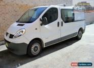 2008 Renault Trafic X83 MY07 White 6 Seq. Manual Auto-Single Clutch Van for Sale