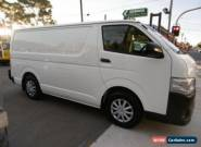 2012 Toyota Hiace TRH201R MY12 Upgrade LWB White Automatic 4sp A Van for Sale