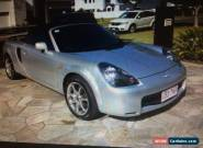 2001 Toyota Mr2 Silver Automatic A Convertible for Sale