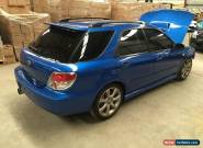 Subaru impreza WRX 2006 5spd turbo EJ25 2.5L 156km damaged repairable drives for Sale