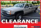 Classic 2005 Chevrolet Silverado 2500 for Sale