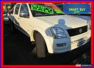 2005 Holden Rodeo RA LT White Manual 5sp M Crewcab for Sale