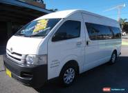 2007 Toyota Hiace TRH223R MY07 Commuter White Automatic 4sp A Bus for Sale