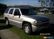 CHEV TAHOE WAGON  for Sale