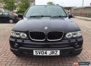NO RESERVE *DIESEL-AUTO* 04 BMW X5, FULL SERVICE HISTORY, LEATHER, SAT-NAV, TV, for Sale