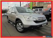 2007 Honda CR-V RE MY2007 Silver Manual 6sp M Wagon for Sale